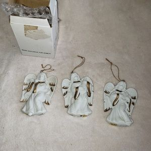 Vintage Angel Christmas Ornaments